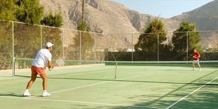Tennis, Hotelli 9 Muses Resort, Santorini, Kreikka.