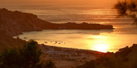 Auringonnousu Trambikinrannalla.
