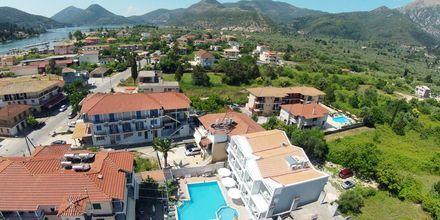 Näkymä hotellilta Aggelos. Lefkas, Kreikka.