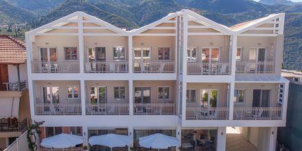 Hotelli Aggelos. Lefkas, Kreikka.