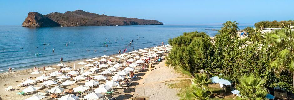 Ranta. Agia Marina, Kreeta, Kreikka.