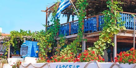 Ravintola Kafesas, Agios Georgios, Korfu, Kreikka.