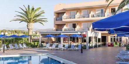 Allasalue. Hotelli Akti Chara, Rethymnon, Kreeta, Kreikka.
