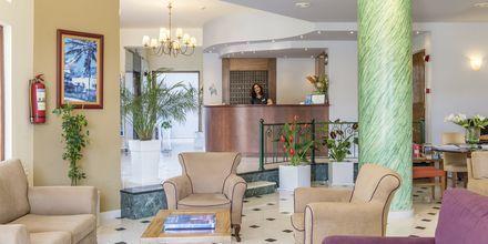 Vastaanotto. Hotelli Akti Chara, Rethymnon, Kreeta, Kreikka.