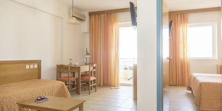 Kaksio. Hotelli Akti Chara, Rethymnon, Kreeta, Kreikka.
