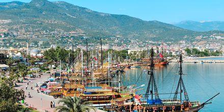 Alanyan satama, Turkki.