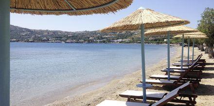 Läheinen ranta. Hotelli Alea Mare, Leros, Kreikka.