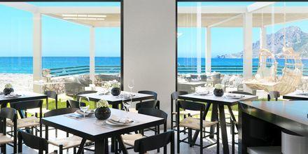 Ravintola, hotelli Alegria Beach Resort. Plakia, Kreeta, Kreikka.