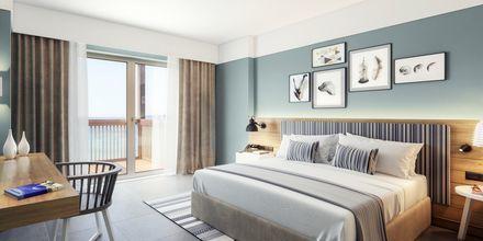 Kahden hengen huone, hotelli Alegria Beach Resort. Plakia, Kreeta, Kreikka.