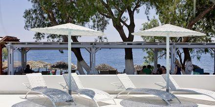 Allas. Hotelli Alesahne Beach, Santorini, Kreikka.