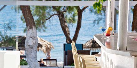 Baari. Hotelli Alesahne Beach, Santorini, Kreikka.