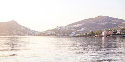 Näkymä. Hotelli Alinda, Leros, Kreikka.