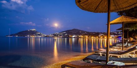 Ranta. Hotelli Alinda, Leros, Kreikka.