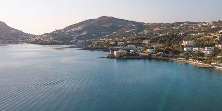 Näkymä. Leros, Kreikka.