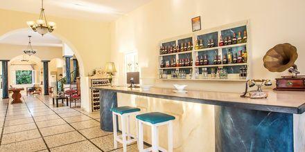 Baari. Hotelli Alinda, Leros, Kreikka.