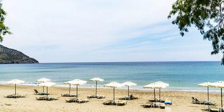Läheinen ranta.Hotelli Almyra Village, Karpathos.