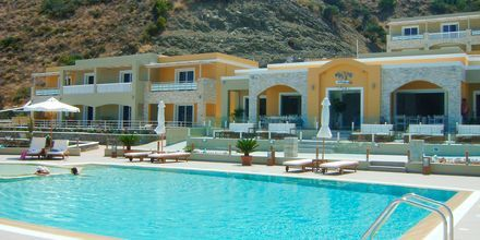 Allas. Hotelli Almyra Village, Karpathos.