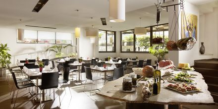 Ravintola, Almyrida Residence, Kreeta.