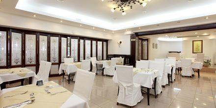 Ravintola Almyrida Beachissä, Hotelli Almyrida Resort, Kreeta.
