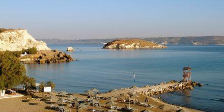 Läheinen ranta, Hotelli Almyrida Resort, Kreeta.