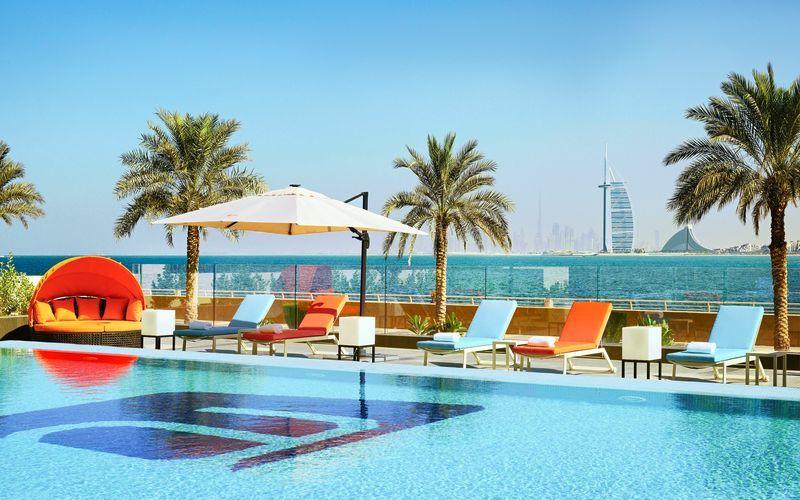 Aloft Palm Jumeirah - talvi