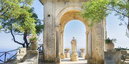 Ravello, Amalfin rannikko, Italia.