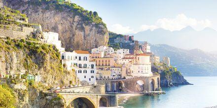 Amalfi, Amalfin rannikko, Italia.