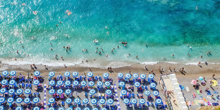 Ranta Amalfin rannikolla.