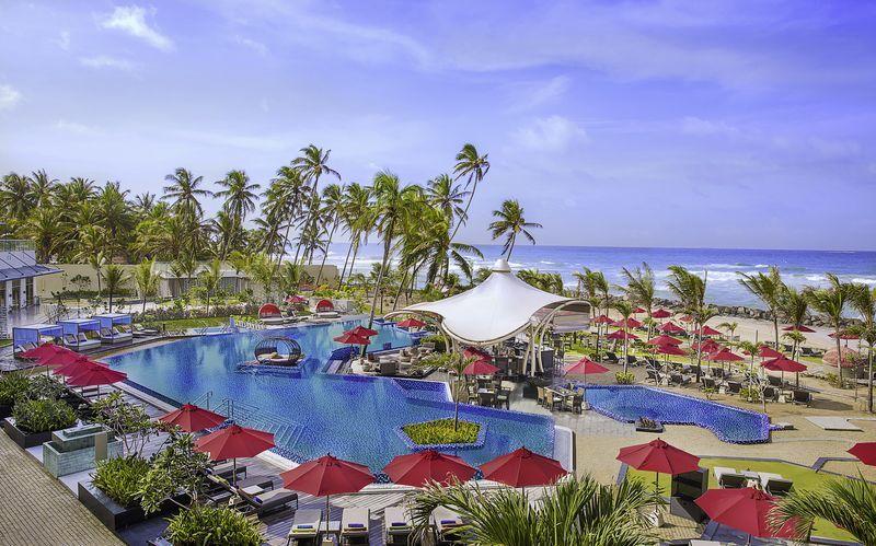 Allas, hotelli Amari Galle. Sri Lanka.