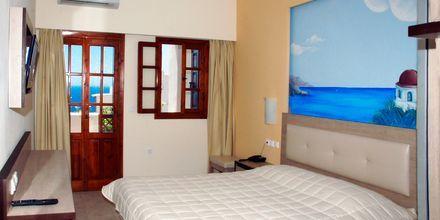 Kahden hengen huone, Hotelli Amopi Bay, Karpathos.