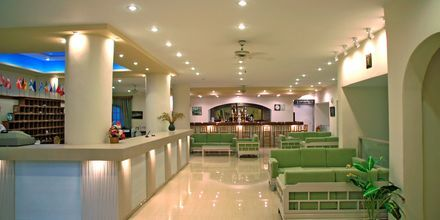 Aula, Hotelli Amopi Bay, Karpathos.
