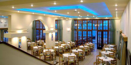 Aamiaishuone, Hotelli Amopi Bay, Karpathos.