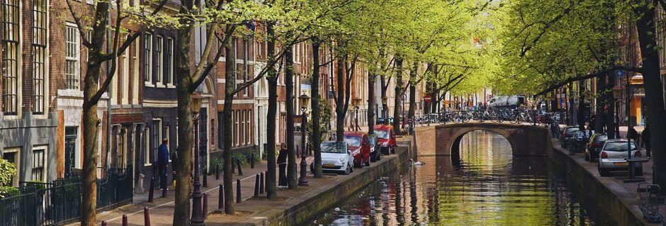 Alankomaiden pääkaupunki Amsterdam on erityisen kaunis kaupunki.
