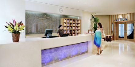 Vastaanotto, Hotelli Amwaj Rotana Jumeirah Beach, Arabiemiraatit.