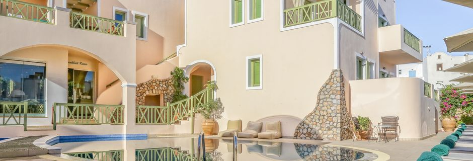 Hotelli Anassa, Kamari, Santorini.