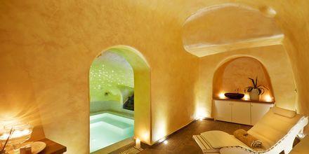 Spa. Hotelli Andromeda Villas, Caldera, Santorini, Kreikka.