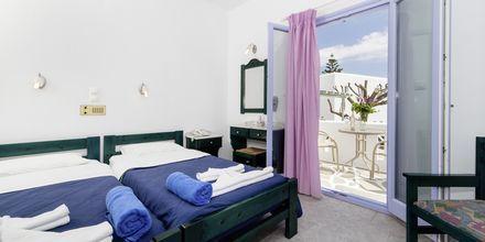 Kaksio hotellissa Anemomylos Residence. Paros, Kreikka.