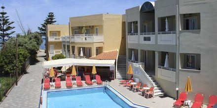 Allasalue. Hotelli Anthimos, Kreeta.