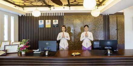 Vastaanotto, Aonang Princeville Villa Resort & Spa, Thaimaa.