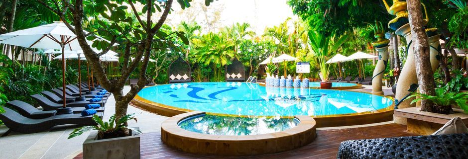 Allasalue, Aonang Princeville Villa Resort & Spa, Thaimaa.