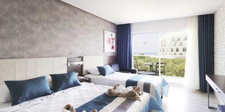Kahden hengen huone, hotelli Gold Island. Alanya, Turkki.