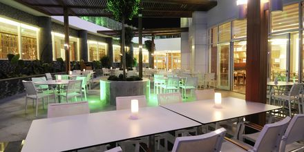 Pääravintola, hotelli Gold Island. Alanya, Turkki.