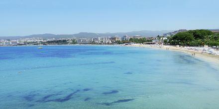 Ranta, hotelli Gold Island. Alanya, Turkki.