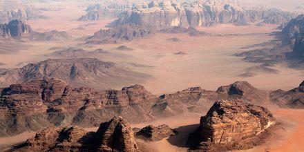 Wadi Rumin retki Jordaniassa.