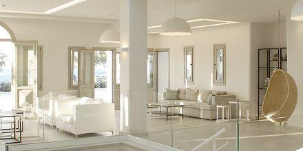 Aula, Hotelli Aqua Blue, Perissa, Santorini, Kreikka.