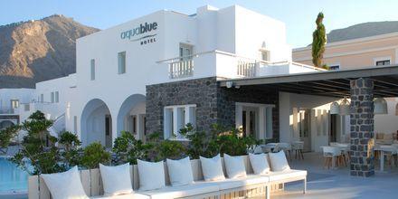 Hotelli Aqua Blue, Perissa, Santorini, Kreikka.