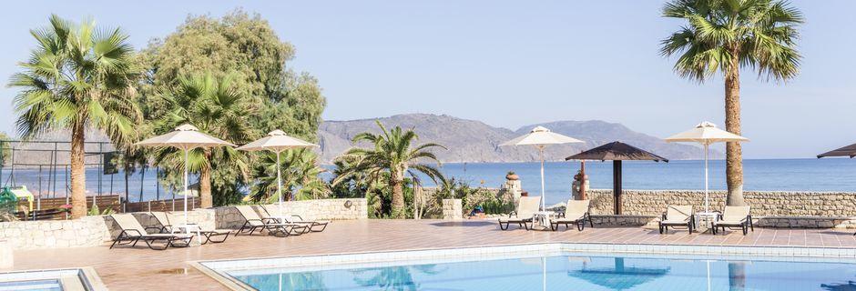 Allasalue. Hotelli Aquamar, Kreeta, Kreikka.