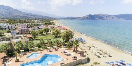 Allas ja ranta. Hotelli Aquamar, Kreeta, Kreikka.