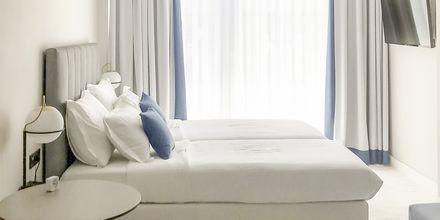 Yhden hengen huone,  hotelli Aquarius, Rethymnon, Kreeta.