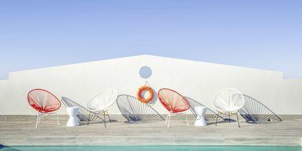 Allasalue, hotelli Aquarius, Rethymnon, Kreeta.